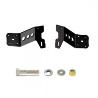 M-2-6 Black Adapter Plate - Dual