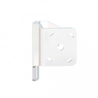 Braced S-2-2 White Adapter Plate - Starboard Side