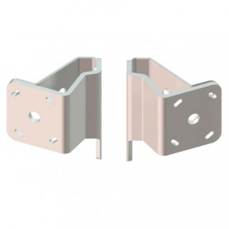 Dual Braced S-2-2 White Adapter Plate Kit