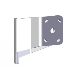 Braced Starboard Side S-2-3 White Adapter Plate