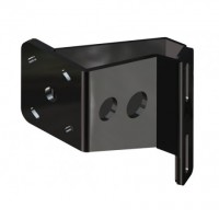 Braced S-5-4 Black Adapter Plate - Port Side