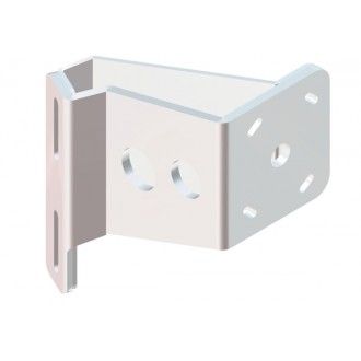 Braced S-5-4 White Adapter Plate - Starboard Side