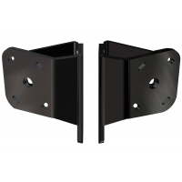 Dual Braced S-N2-2 Adapter Plate Kit  (Black)