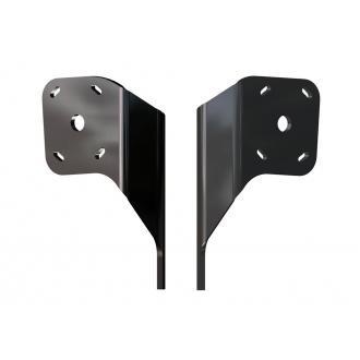 Dual Braced S-N2-6 Adapter Plate Kit  (Black)