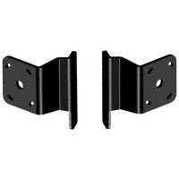 Dual S-2-2 Black Adapter Plate Kit