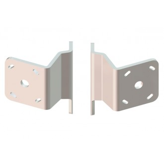 Dual S-2-2 White Adapter Plate Kit