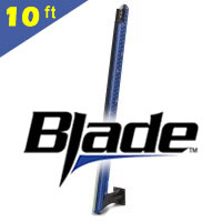 Power-Pole Blade Shallow Water Anchor | Black, 10 ft Signature Series