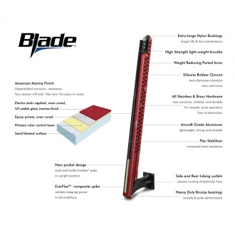 10 ft Power-Pole Blade - Red